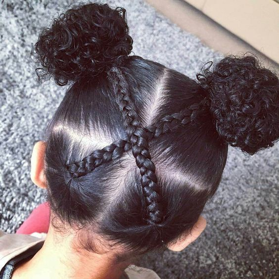 Biracial And Multiracial Hairstyles For Kids Natural Hairstyles For Kids Cute Hairstyles For Kids Girls Natural Hairstyles