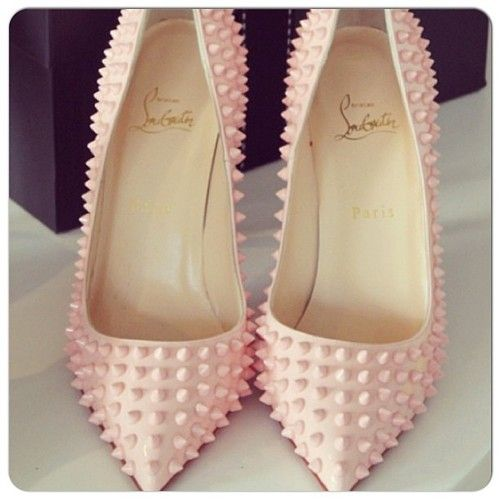 Studded heels, Heels and Lights on Pinterest