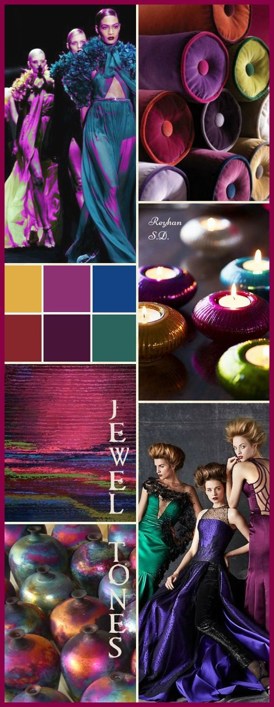 '' Jewel Tones '' by Reyhan S.D.