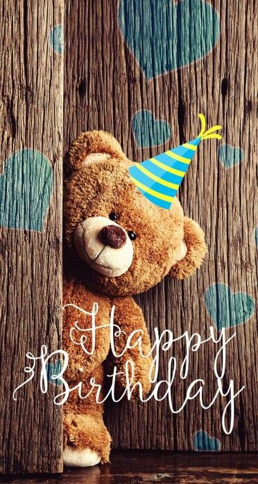 For A Beary Cute Friend- Happy Birthday with Lots of LUV. Hugs, Bear Junior #happybirthday #ecard