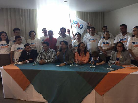 Sergio Mena madruga por la Presidencia, ya inició su campaña