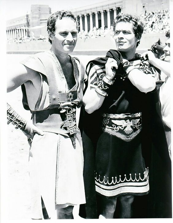 Ben Hur....1959, Stephen Boyd and Charlton Heston