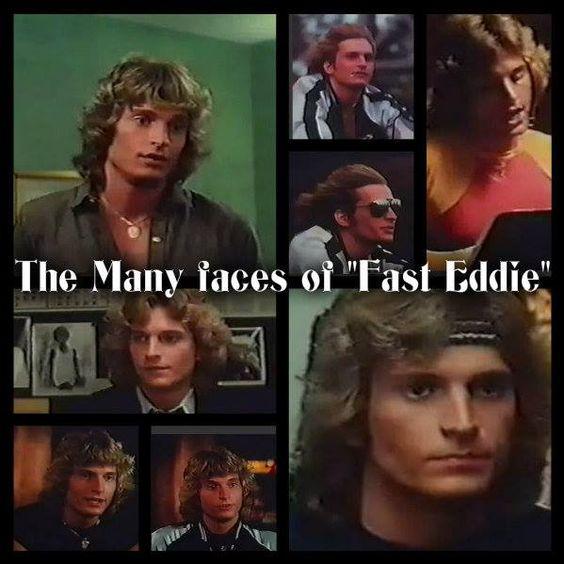 Headin' for Broadway - Fast Eddie  collage by Carole Winner