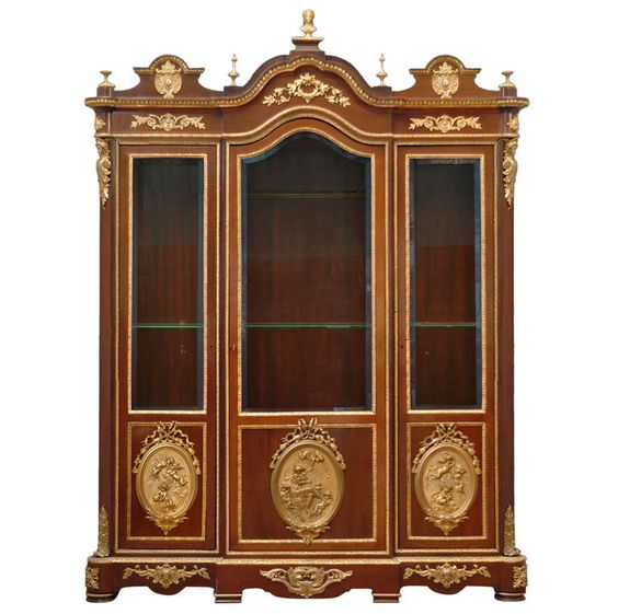 nineteenth century large vitrine by charles guillaume diehl and leon bertaux