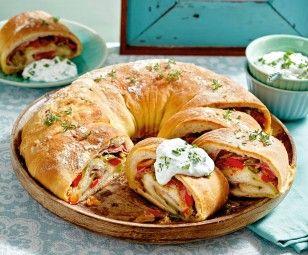 das rezept für tortano – italienisches pizzabrot und
