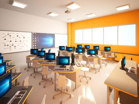 2018-2019 Eğitim Öğretim yılında faaliyete geçecek olan yeni ilkokul binamızda yer alacak bilgisayar laboratuvarımız...