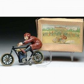 Fischer Georg Tin-Motorcycles Racing motorcycle, an...