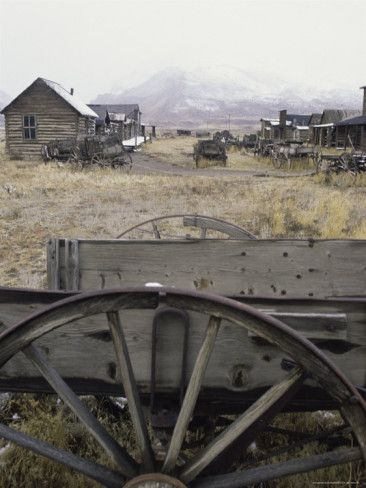 Old Trail Town, Cody, Wyoming, USA Photographic Print: