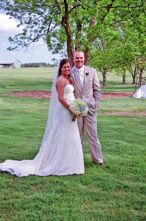 Outdoor wedding ceremony. Lenora's Legacy, Campobello, SC. http://www.lenoraslegacy.com/