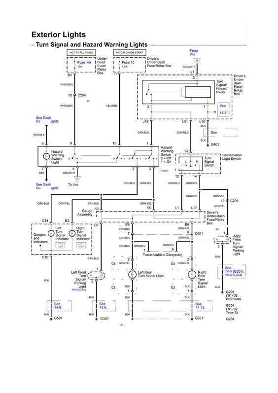 Repair Guides Wiring Diagrams Wiring Diagrams 5 Of 103 Repair Guide Honda Civic Electrical Layout