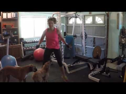 Exercise: Cross Hops. Trainer In Your Back Pocket - YouTube