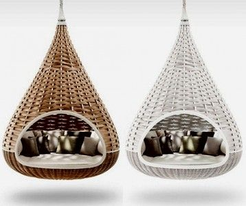 Indoor hammock bed smart solutions for your home for Hanging bed indoor