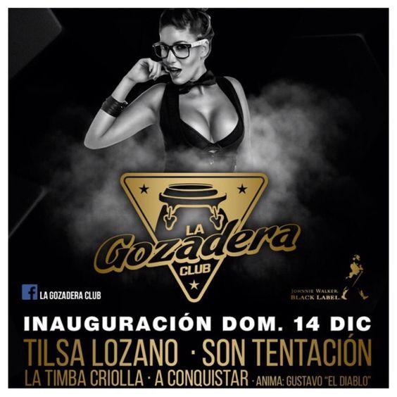 #DesfilesLima: Este #Domingo 14Dic inauguración en #LaGozaderaClub con un #sexy #desfile   y #Show  de la #bella  @tilsa_lozano  para listas envíen kathiereds@hotmail.com