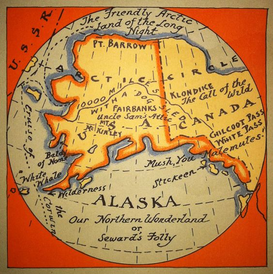 The Friendly Arctic Land of the Long Night  (again threatened by a MAJOR oil spill near Kodiak Island)