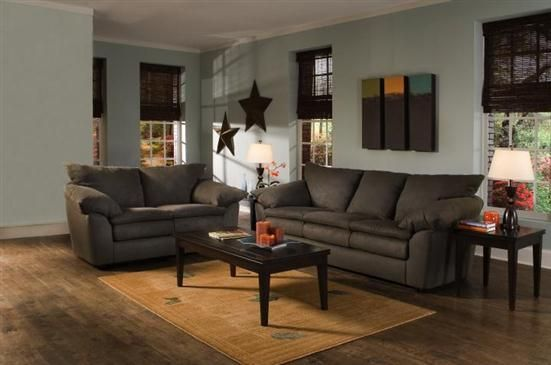 living room country color schemes | Urban living room scheme with dark  brown color, natural wood texture ... | living room ideas | Pinterest |  Black ...