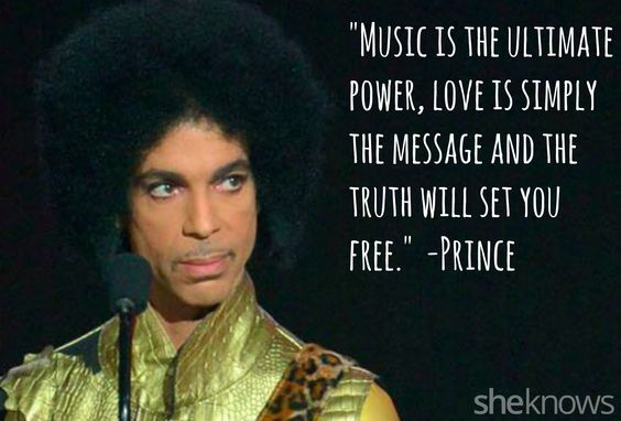 Prince's most moving song lyrics and quotes: Communicating his message