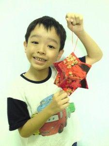 easy hong bao lantern