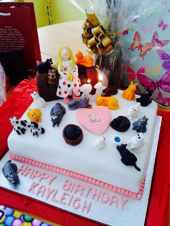 Cat Lady Birthday Cake Cake Recipe