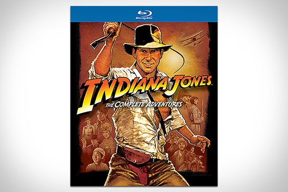 Indiana Jones: The Complete Adventures - There really should be a version that comes in the Idol head and is minus crystal skull and Karen Allen hand delivers it to you in the nazi wedding dress.