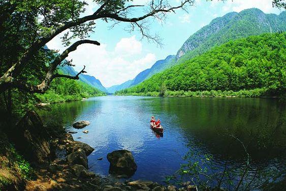 Quebec: Parc national de la Jacques-  Cartier
