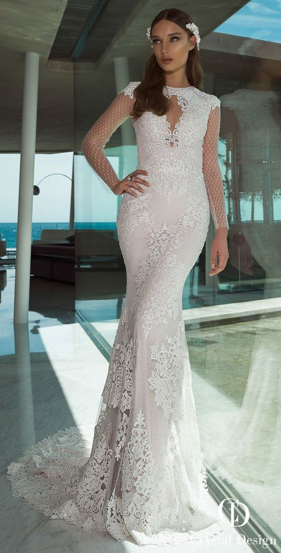 Sophisticated, romantic wedding dresses