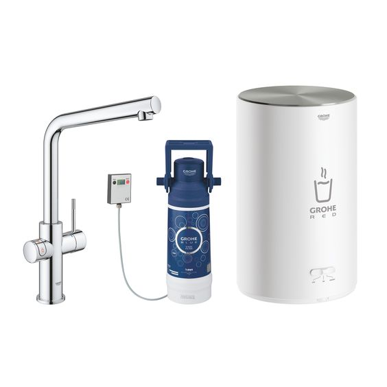 30327001 Grohe Red Duo Armatur Und Boiler Grosse M Kuchenarmatur Kuchenarmaturen Armaturen