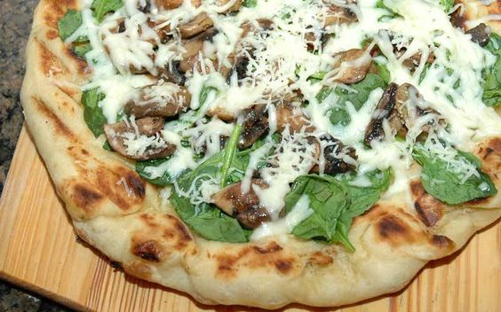 Grilling is a great way to add a twist to your pizza