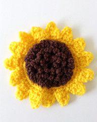 Maggie's Crochet · Large Sunflower - Free Crochet Pattern