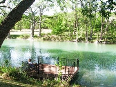 """Gruene Vacation Rental - VRBO 193039 - 3 BR Hill Country Lodge in TX, 2 Homes to Choose from - Best Part of Guadalupe for """"Toobing"""""""