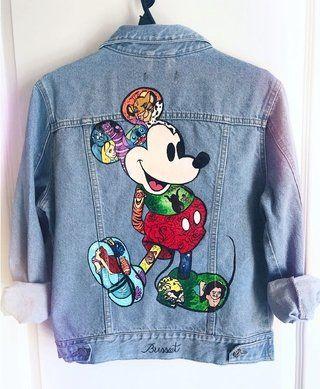 Jean Trajes Inspirados En Disney Ropa De Bricolaje Trajes Disneyland