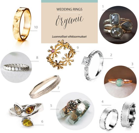 Organic wedding & engagement rings | Best Day Ever