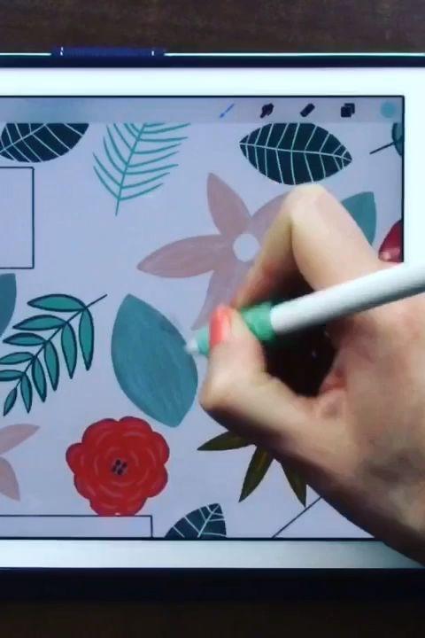 Learn Ipad Modern Floral Illustration In Procreate Ipad Ideas