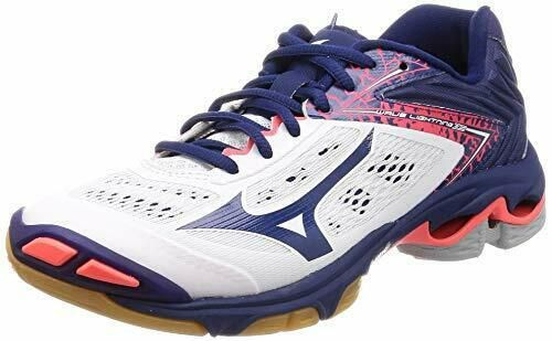 Advertisement Ebay Mizuno Volleyball Shoes Wave Lightning Z5 V1ga1900 White Navy Us6 524 5cm New Volleyball Shoes Mizuno Volleyball Asics Running Shoes