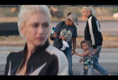 Gwen Stefani  and sons jet home after long weekend with Blake