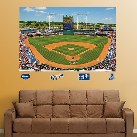 Kauffman Stadium Mural By Fathead Already Have Plans To Order Him