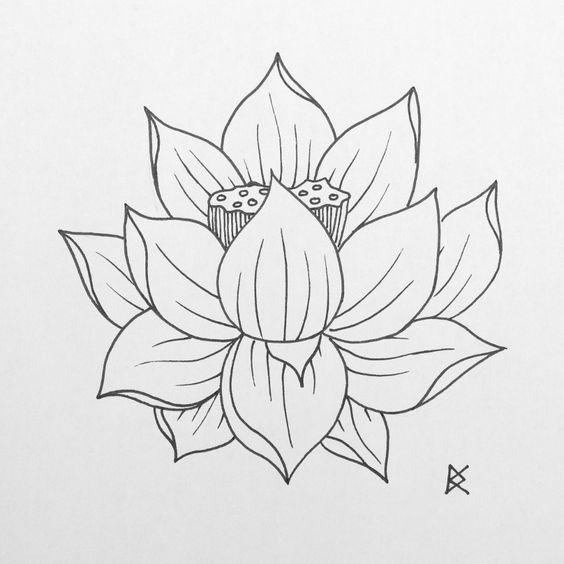 fleur de lotus lotus flower dessin au feutre pen drawing decay 22 2 2015 following eddie. Black Bedroom Furniture Sets. Home Design Ideas