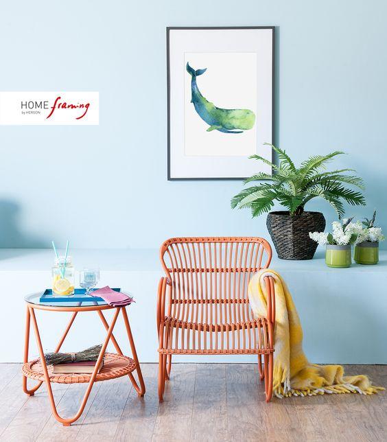 Mediterranean decor by #HomeFraming - decoración mediterránea por #HomeFraming
