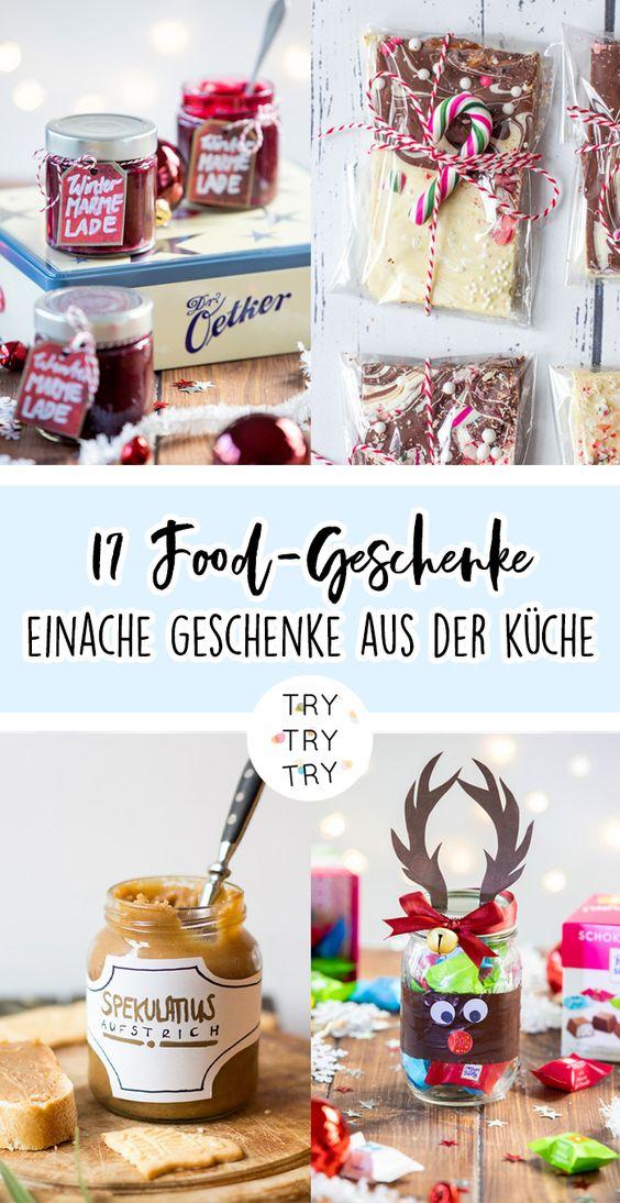 17 Geschenke aus der Küche