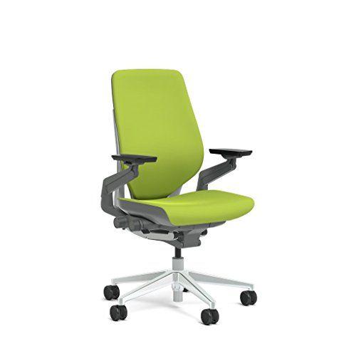 Steelcase Gesture Task Chair Shell Back Platinum Metallic Frame Polished Aluminum Base Merle Accent Glides Task Chair Chair Comfy Accent Chairs