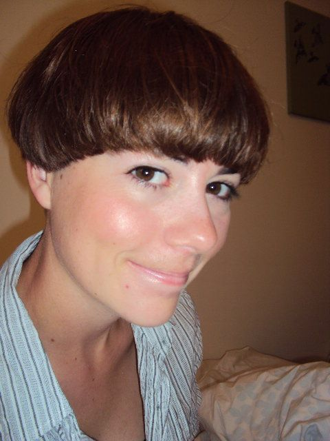 Tomboy haircuts for round faces