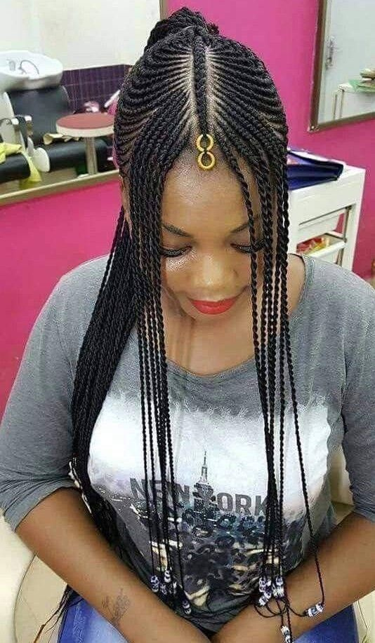 Pin By Habibatou Traore On Tresses Africaines Braided Hairstyles African Braids Hairstyles African Braids