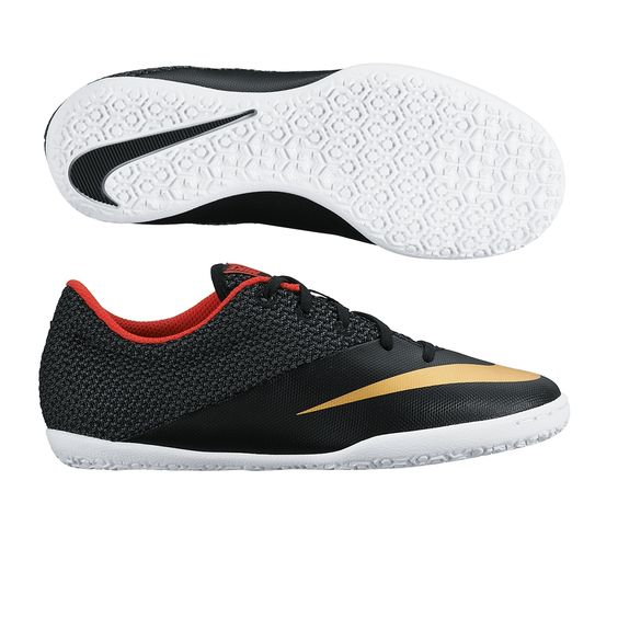 Kids can dominate too. Play with speed in the Junior Nike MercurialX Pro indoor soccer shoes.  Order your indoor soccer shoes at SoccerCorner.com.  http://www.soccercorner.com/Nike-Youth-MercurialX-Pro-Indoor-Soccer-Shoes-p/siyni725280-076.htm