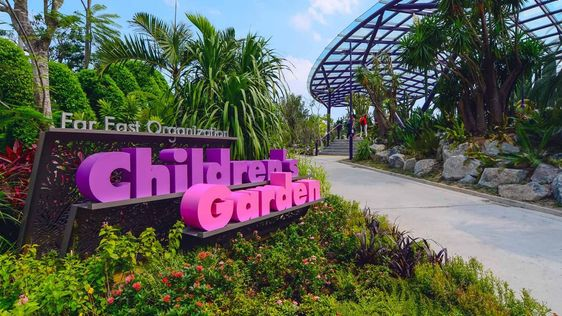 bay east garden gardens by the bay singapore entry to bay east garden is via tanjong