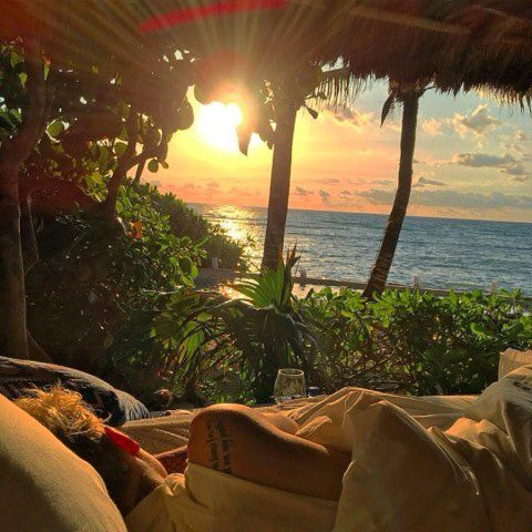 Justin Bieber posted this stunning photo on Instagram today! He's still vacationing away with Hailey Baldwin. http://www.thejoyofgossip.com/justin-bieber-shares-stunning-instagram-photo/