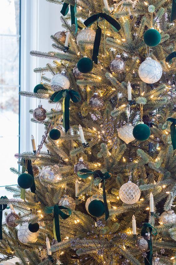 Christmas Trends 2020 Seeking Lavender Lane In 2020 Christmas Tree Inspiration Ribbon On Christmas Tree Green Christmas