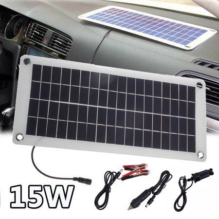 Controller Solar Panel 20w 12v 5v Semi Flexible Portable Controlle Polysilicon Off Grid Kit Waterproof For Car Battery Phone Rv Outdoor Walmart Com In 2020 Solar Panel Charger Flexible Solar Panels Solar Panels