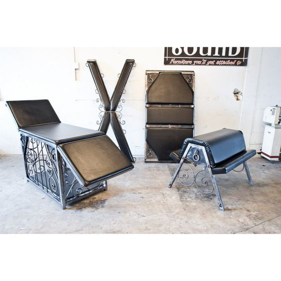 Cross Cage Table Spanking Horse And Padded Bondage Wall Piece Yes Please