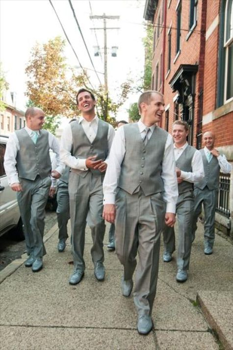 Grey Wedding Vest And Pants Ideas Pinterest Weddings