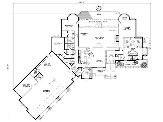 Plan 025h 0213 Find Unique House Plans Home Plans And