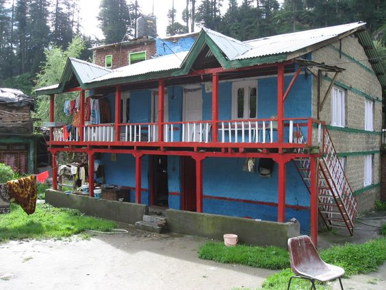 Typical house in Manali